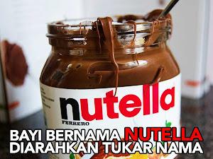 Thumbnail image for Bayi Bernama 'Nutella' Diarahkan Tukar Nama Oleh Mahkamah