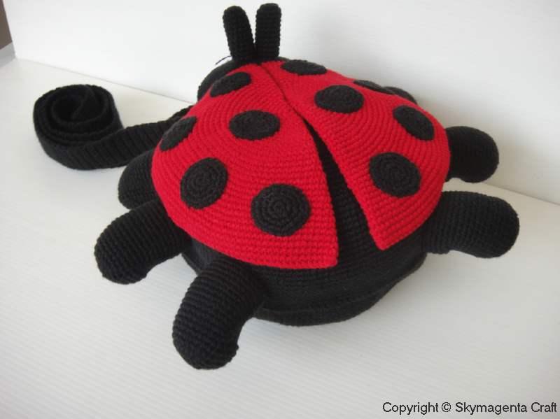 CROCHETED LADYBUG PATTERN - Crochet and Knitting Patterns