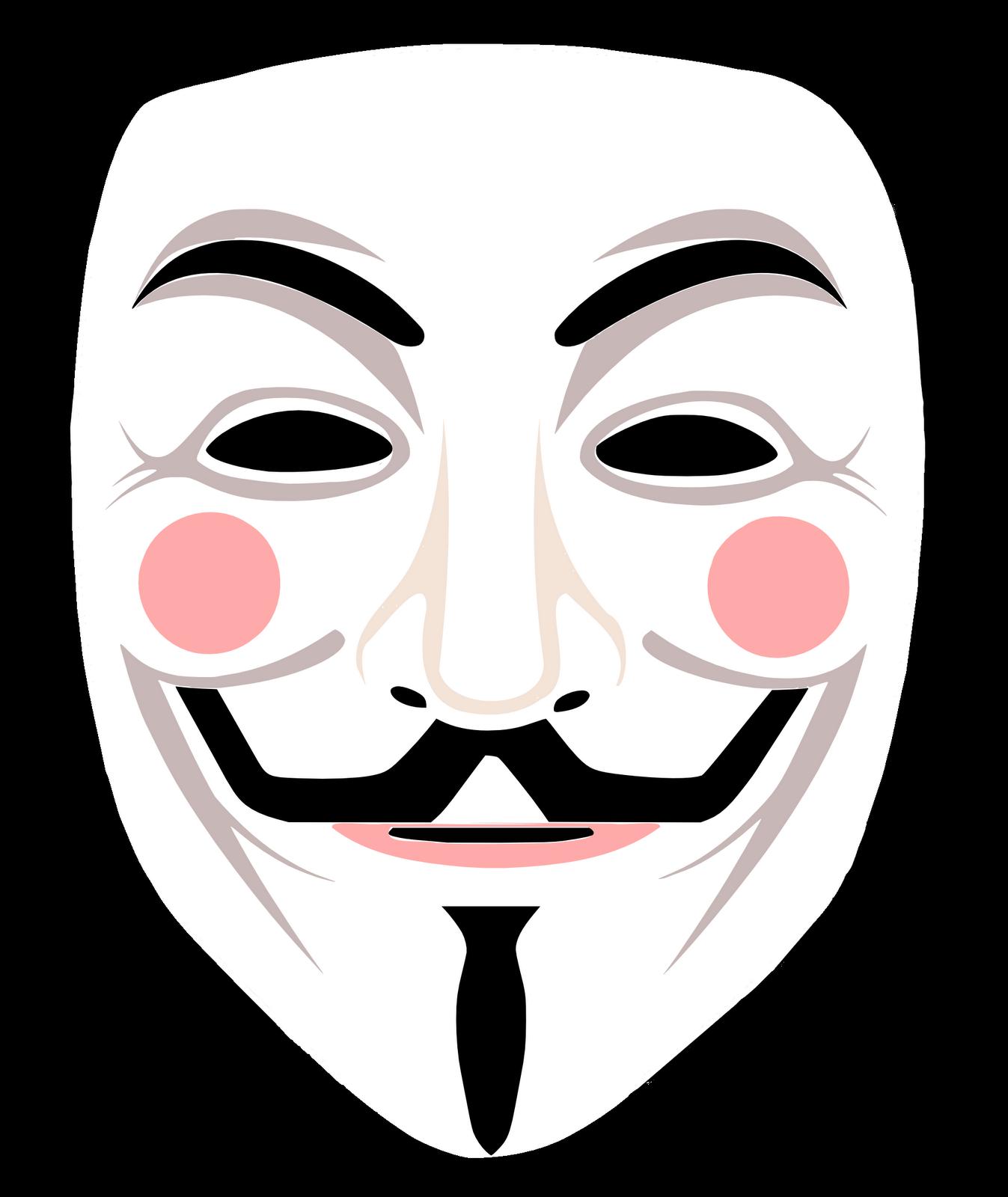 Как сделать маску анонимус 769