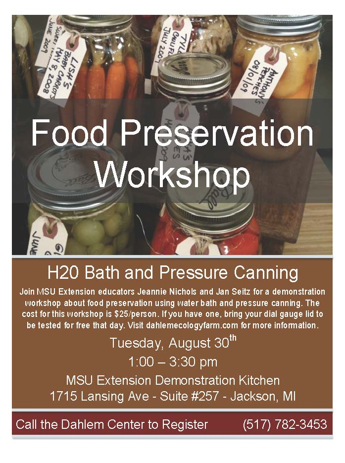 Jackson county connections food preservation workshop food preservation workshop forumfinder Choice Image
