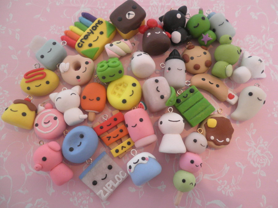 Cute Clay Designs Cute Polymer Clay Charms Ideas