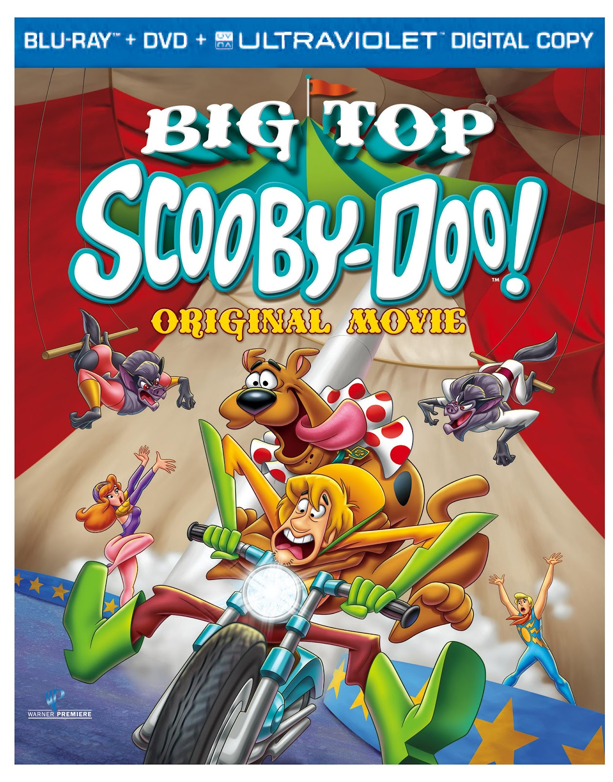 Big top scooby doo movie on blu ray oct 9th frugal - Scooby doo momie ...