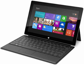 Microsoft's Surface Tablet PC Front