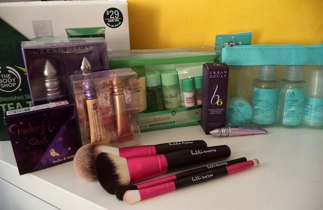 [Haul] Skincare and Makeup + Mini-Reviews, bubbi brushes