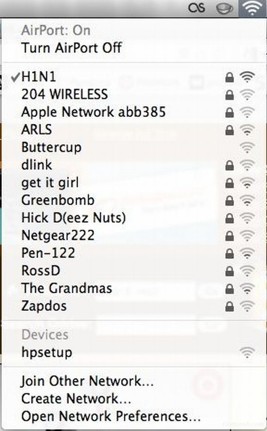 Most funny wifi networks names that you will find