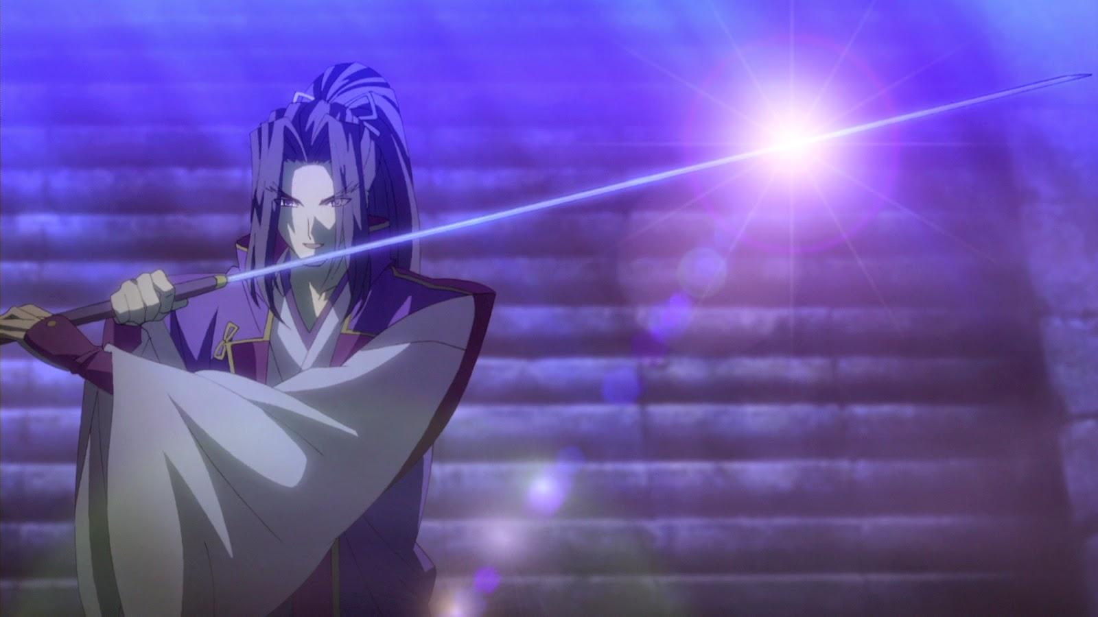 Kojirou Sasaki Servant Kelas Assassin Dengan Pedang Panjangnya