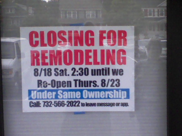 Tommys Barbershop is closed thru Wed 8/22 for remodeling. I hear the ...