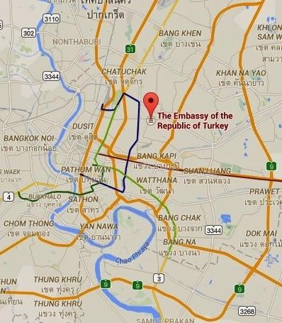Türk Büyükelçiliği Bangkok