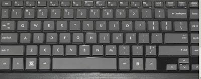 Keyboard Laptop pada umumnya seperti ini
