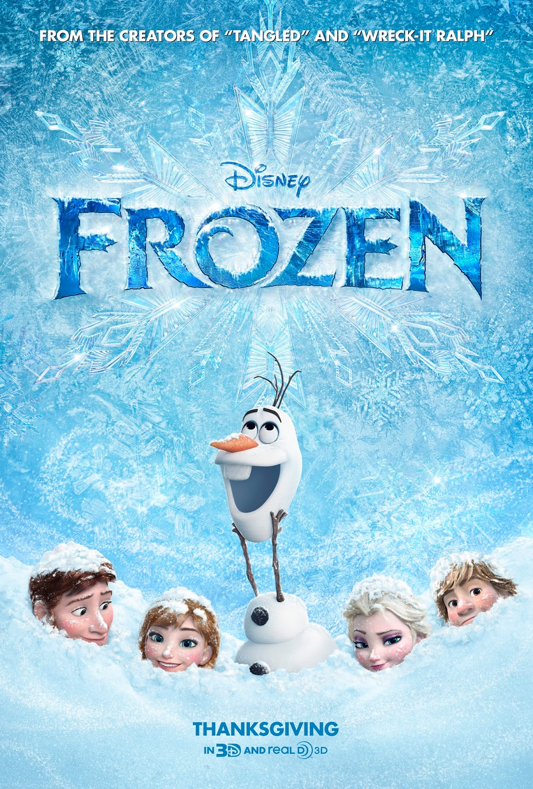 Watch Frozen Official Teaser Trailer (2013) - Disney Animated Movie HD