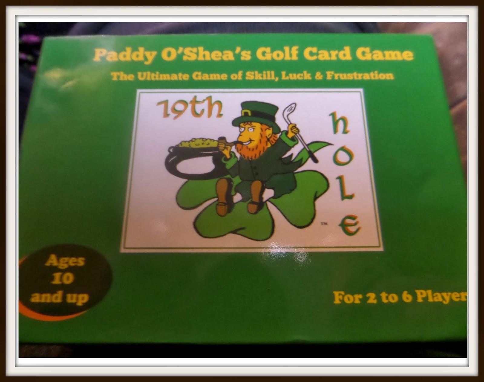 Paddy O'Shea Golf Game