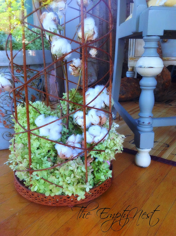Decorating with Cotton Bolls