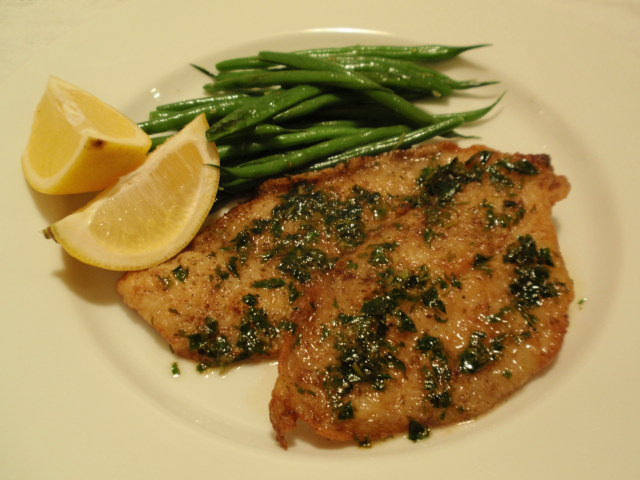 Sole Meuniere(fish fillets cooked in butter sauce) - The Recipe Corner