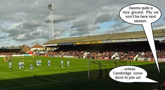 Abbey Stadium Cambridge