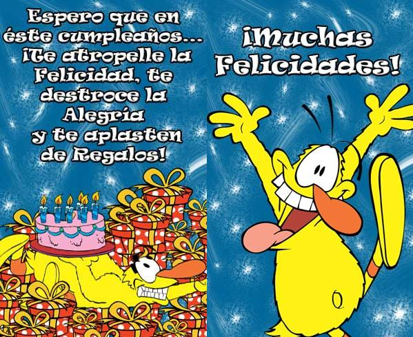 Imágenes y Tarjetas de Cumpleaños Graciosas - ツ Tarjetas de Feliz ...