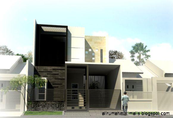 Fasade Rumah MinimalisDianablandon