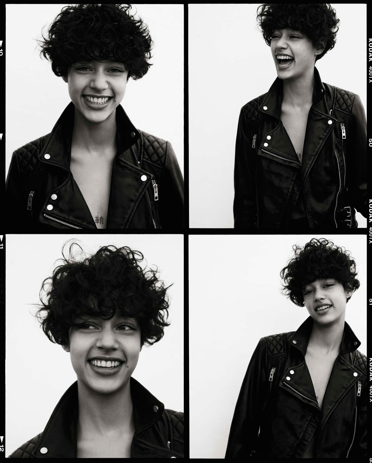 Damaris Goddrie photographed by Matteo Montanari for All Saints / exclusive interview / via fashioned by love british fashion blog