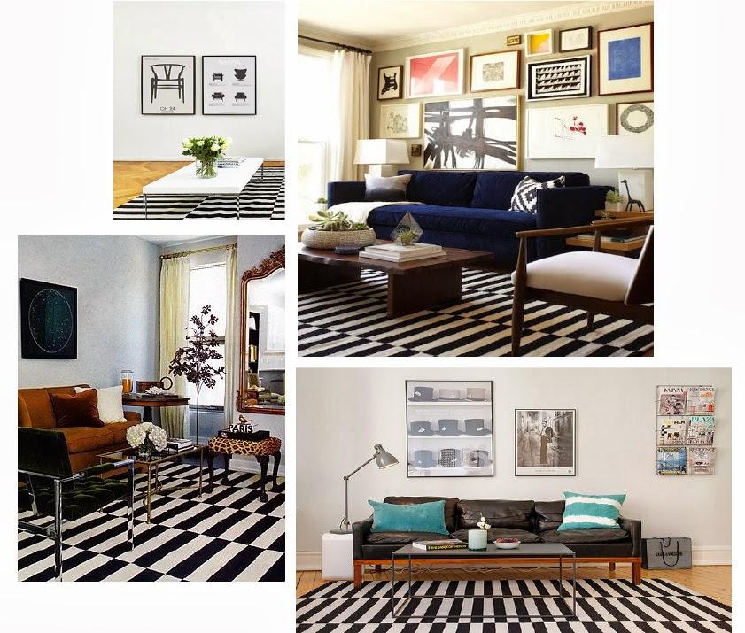 Esa alfombra de rayas un dise o y muchos precios - Alfombras dormitorio ikea ...