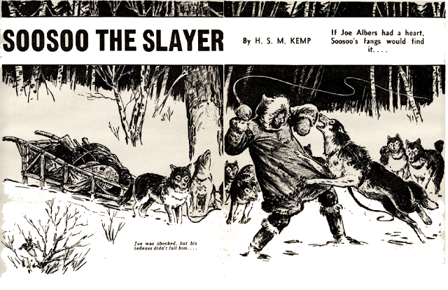 Illustration for Soosoo the Slayer by H. S. M. Kemp