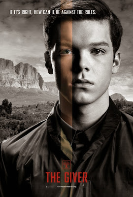 the giver cameron monaghan poster