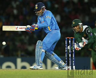India vs Pakistan Cricket match: Dhoni restored the score rate