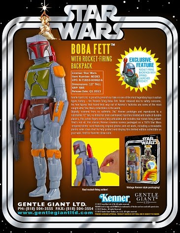 "BOBA FETT Jumbo Kenner Figure 12"" EXCLUSIVO"