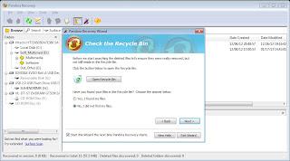 Mengembalikan File dengan Software Pandora Recovery 2