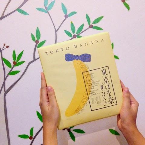 original tokyo banana from Japan