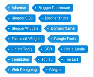 Customize Label Widget For Blogger