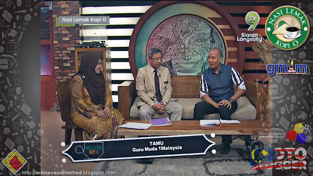Guru Muda 1Malaysia Penggerak Pembelajaran Tanpa Sempadan @Nasi Lemak Kopi O TV9