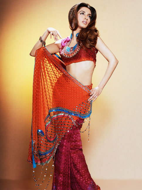 2013 Home Party Casual Wear Saree Fashion Point