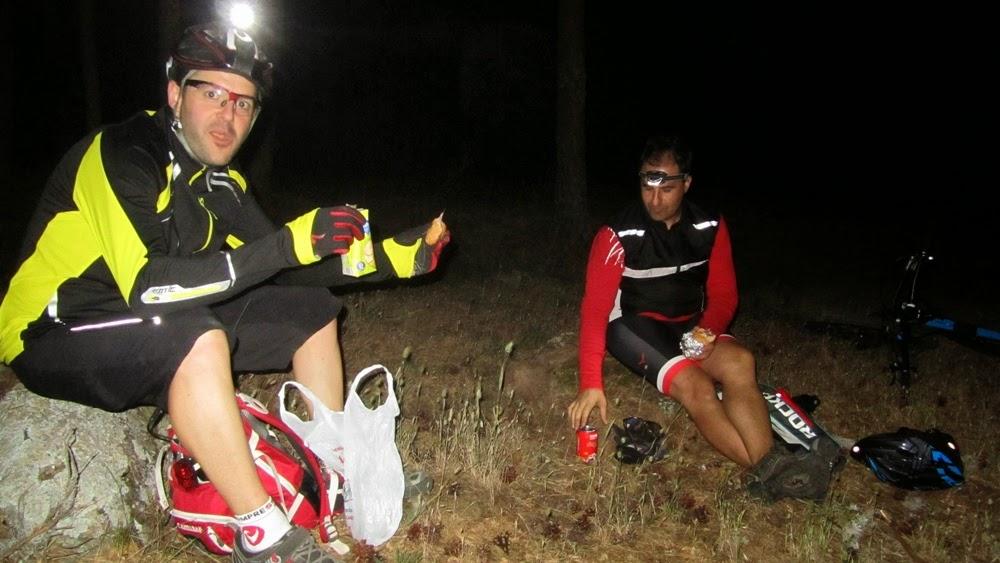 I Ruta MTB Nocturna 2014 Alfonsoyamigos