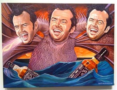 Pintura de Jack Nicholson