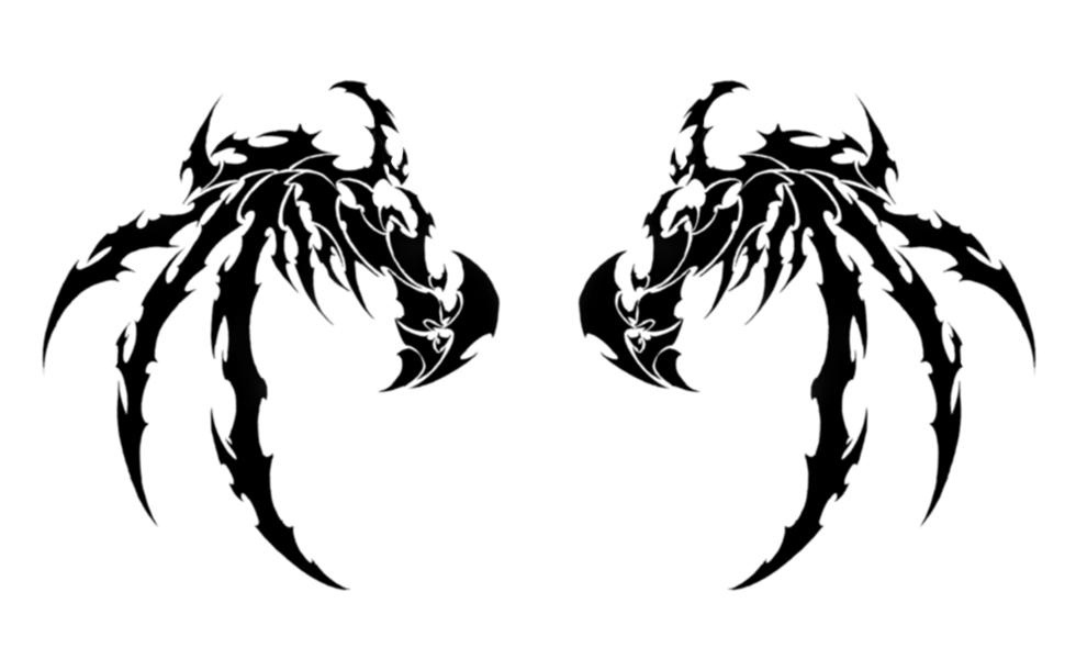 world tribal design tattoo demon tattoos tribal