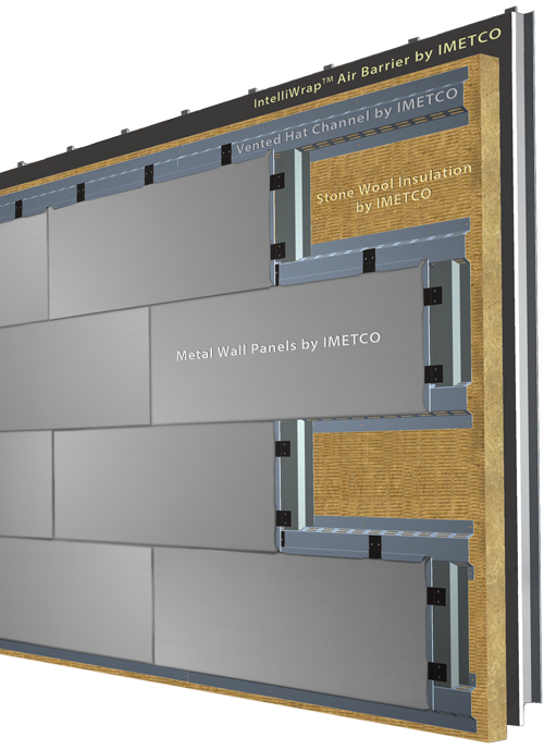 Aluminum Wall System : Metal panel wall systems