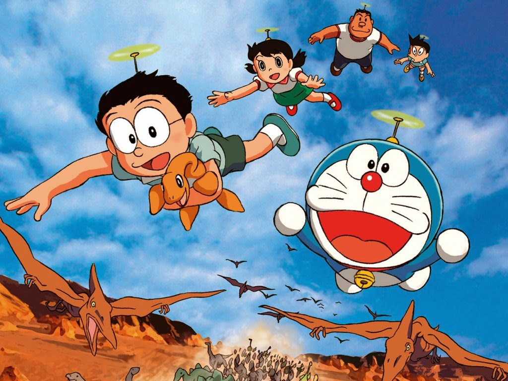 wallpaper gambar kartun doraemon terlengkap gambar kartun