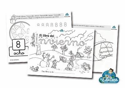Recursos infantil el libro del invierno la eduteca - Proyecto el invierno ...