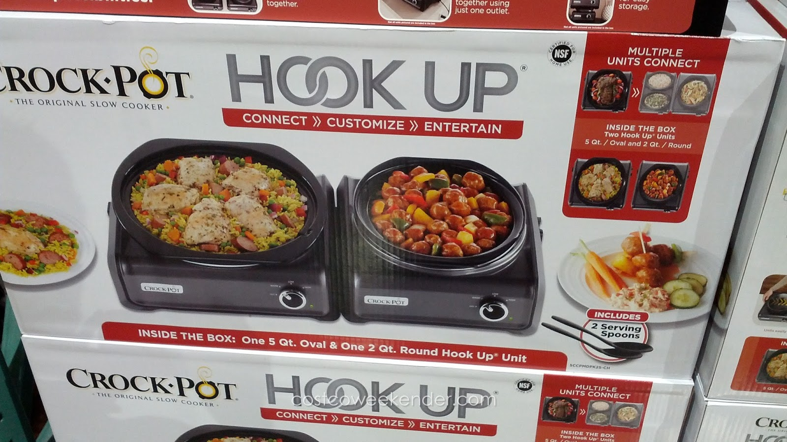 Cook pot hook up