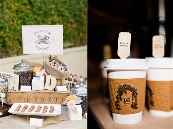 The Bridal Solution TBS Inspiration Coffee Bars At Receptions