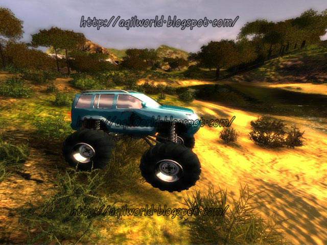 Bigfoot 4X4 Challenge game