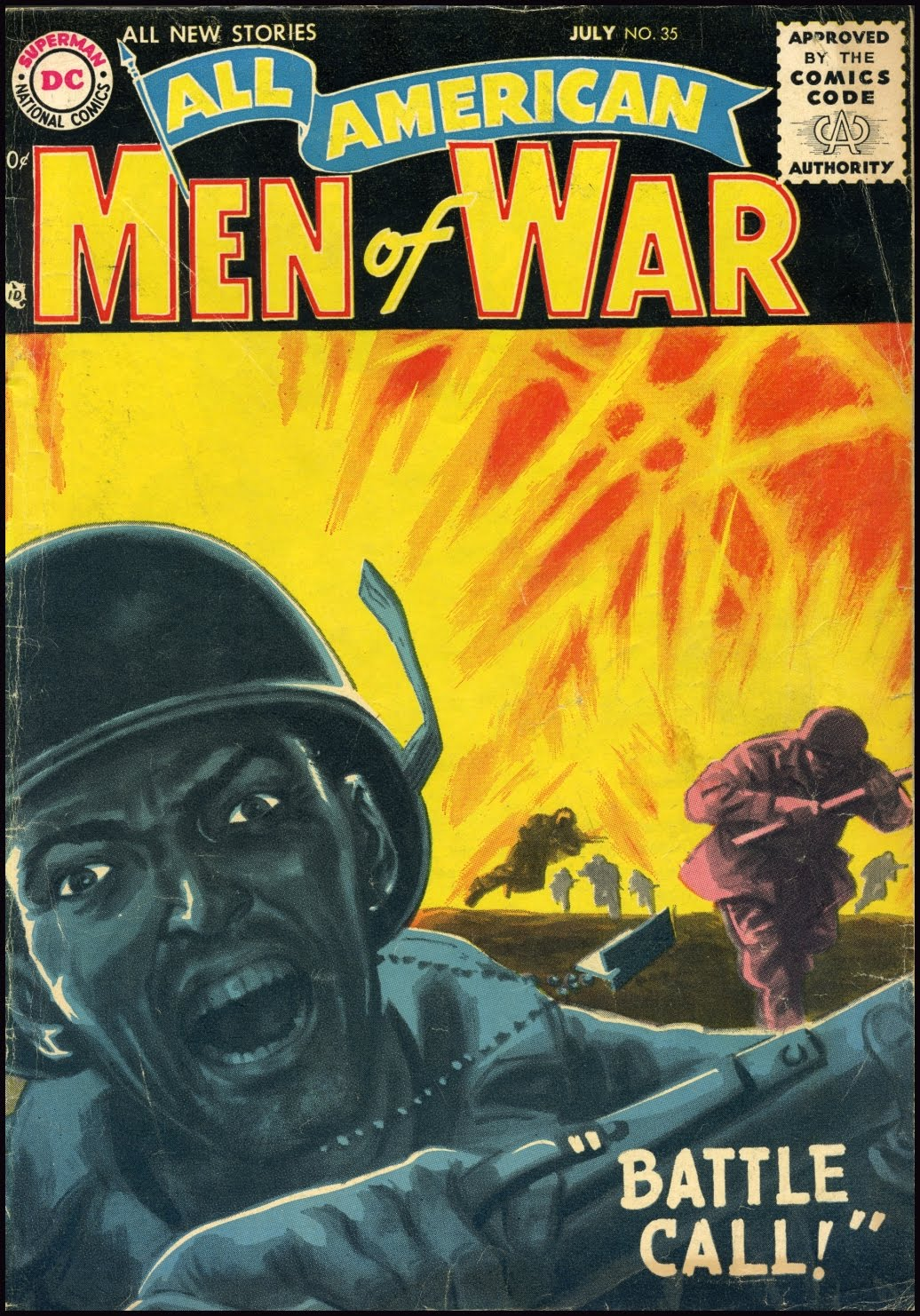 Jerry World War z dc War Covers by Jerry