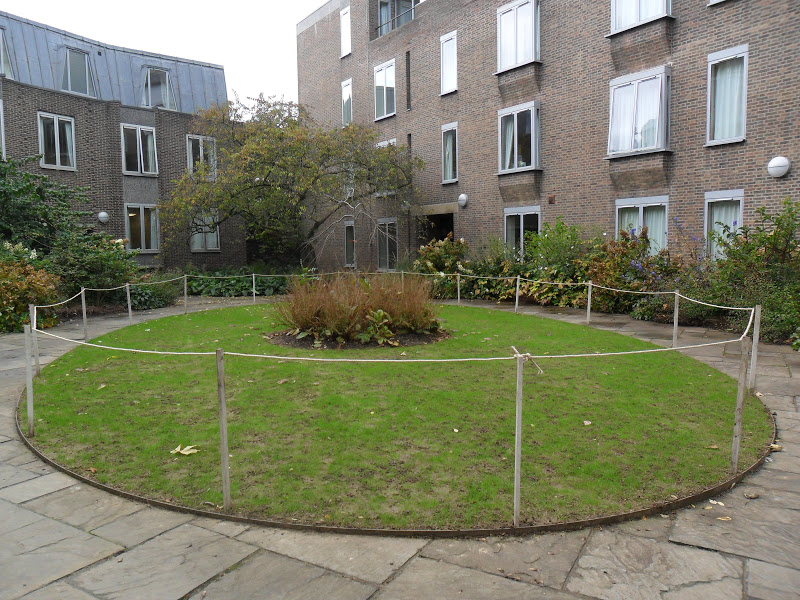 Worcester College Gardeners Two New Areas Of Grass