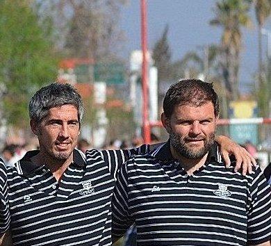 Mariano Huber y Raúl Coledani