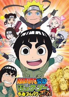 Rock Lee No Seishun Full-Power Ninden 12 español