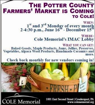 Cole Memorial Farmers Market