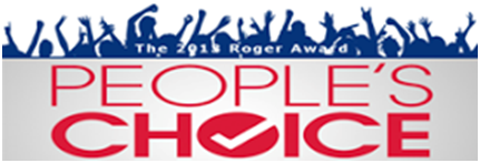 <b>2013 Roger Award <i>People's Choice</i></b>