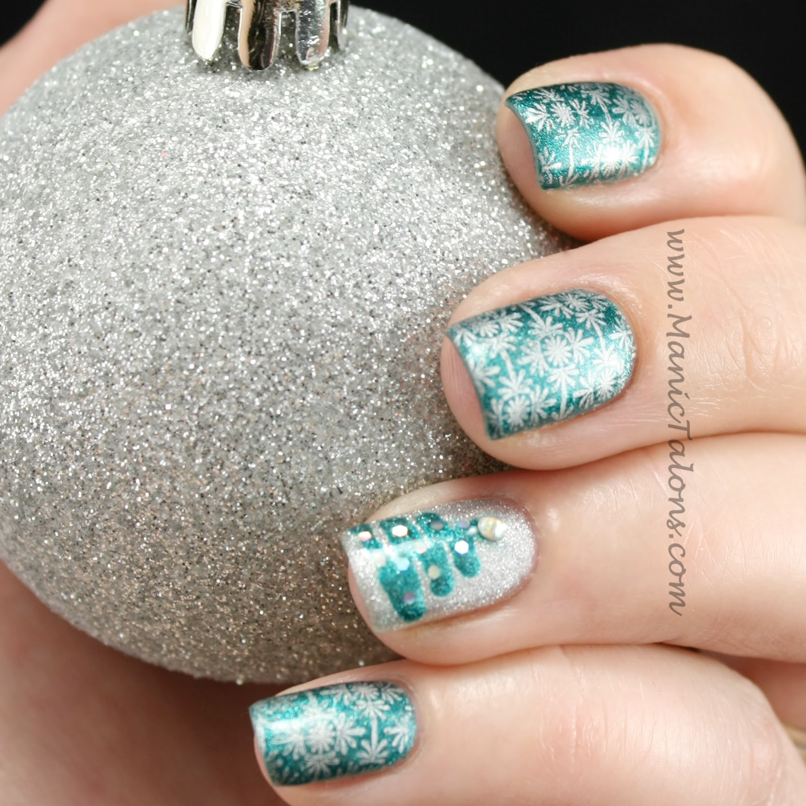 Christmas Green Gel Nail Polish - Creative Touch
