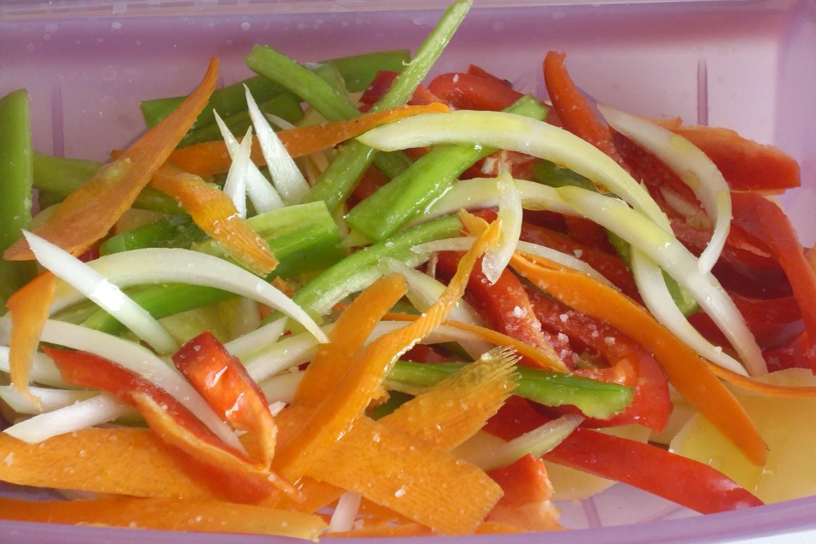 Consejos y trucos de cocina lomos de merluza con verduras - Como cocinar verduras al vapor ...