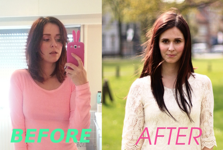 """in hair extensions"""" Emosa 100% Real Human Hair Remy Hair Extensions ..."""