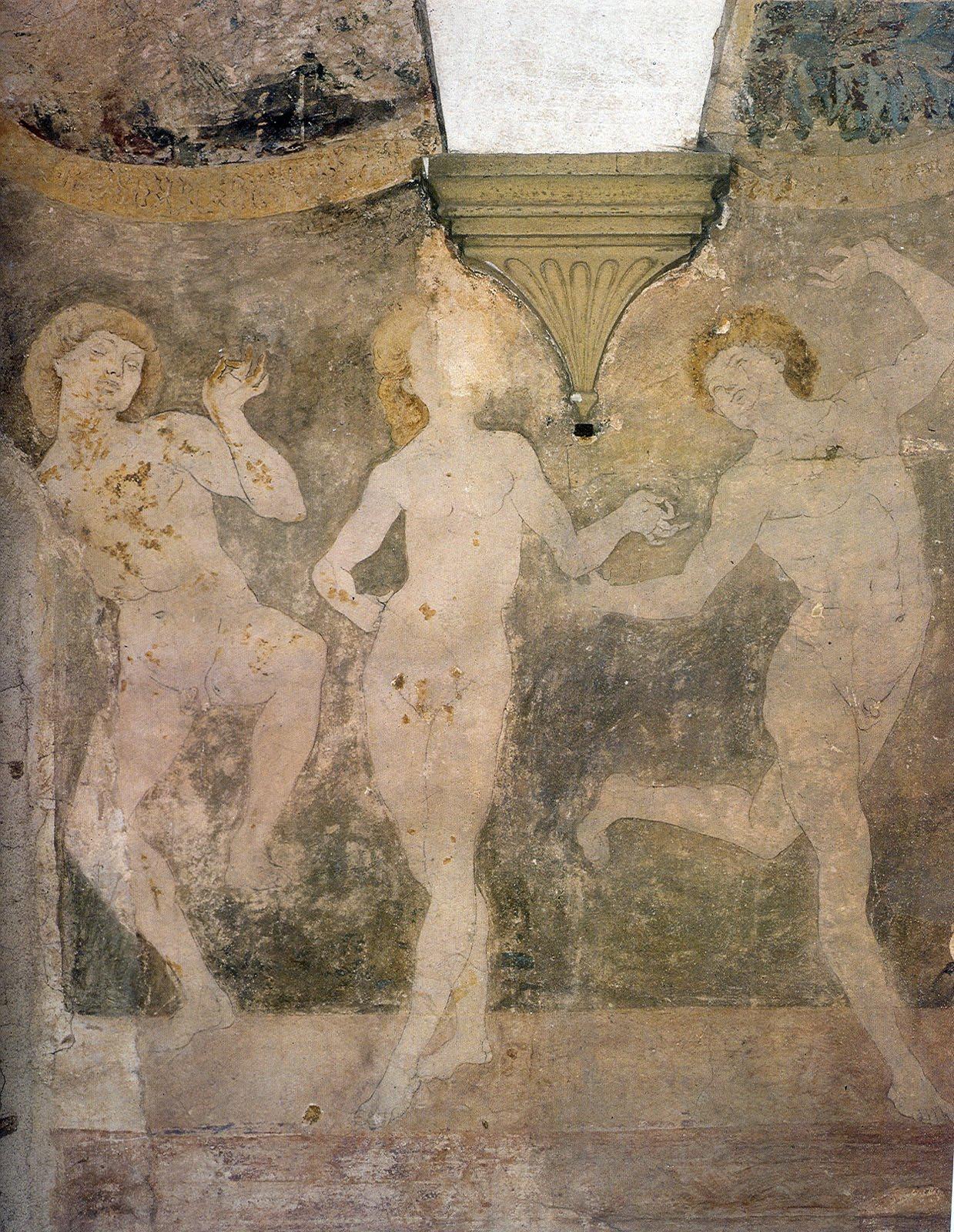 Antonio del Pollaiolo - nudi danzanti